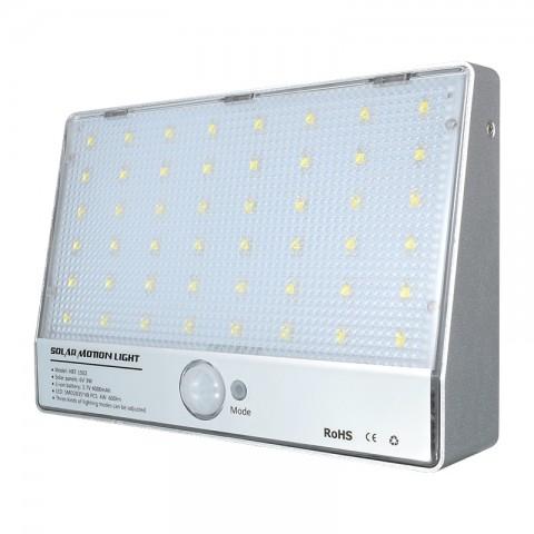 Светильник для наружного освещения/датчик движения/48 лед