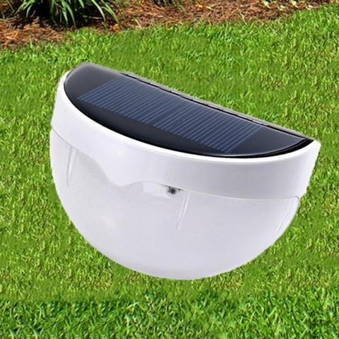 Светодиодный светильник, фонарь, бра на солнечной батареи 6 LED