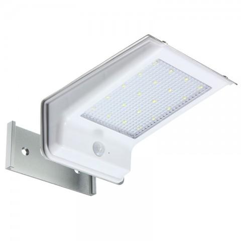 Светильник для наружного освещения на солнечных батареях с датчиком движения 20 лед