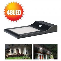 Светильник для наружного освещения с датчиком движения на солнечной батарее