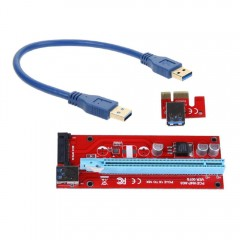 Райзер САТА (RISER) USB 3.0 PCI-E 1X To 16X SATA