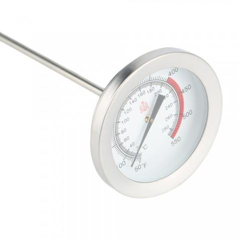 Термометр (градусник) для духовки, барбекю со щупом-иглой