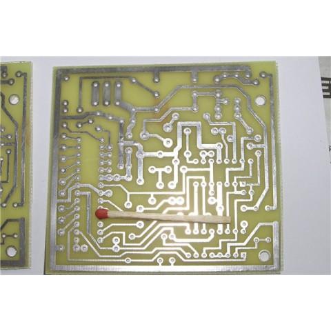 Металлоискатель ClonePI-W, разводка от DesAlex (плата для сборки)