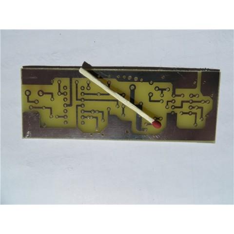 Плата металлоискателя Пират / Pirat, вариант на выводных компонентах (плата для сборки)