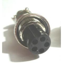 Разъем XLR 5-pin для поисковых катушек.