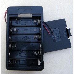Держатель батарей (6хАА) с крышкой
